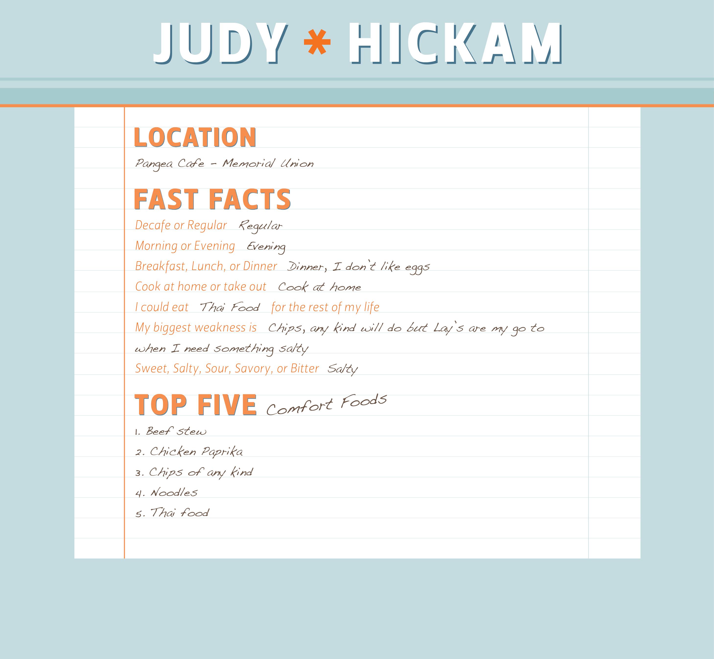 Meet Judy Hickam Manager at Pangea Cafe