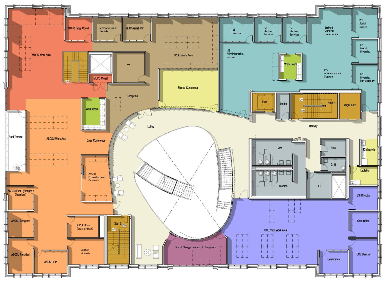 Hours floor plans memorial union oregon state university for Floorplan or floor plan